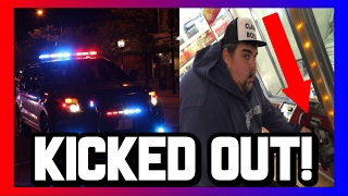KICKED OUT OF THE ARCADE FOR BREAKING INTO A CLAW MACHINE!!!