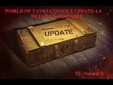 World of Tanks Console Update 4.4 Detailed Summary