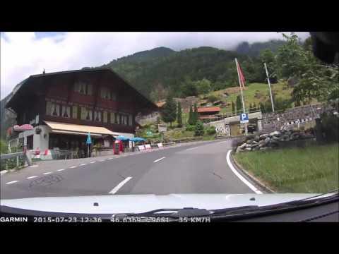 جولة في جريندلوالد سويسرا A tour in Grindelwald Switzerland