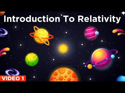 Albert Einstein's Theory Of Relativity (Video1)   Introduction to Relativity & Frame of Reference