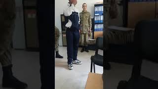 Askerden kaçmak isteyen askerin imtihanı