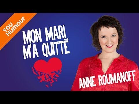 Anne Roumanoff, La rupture