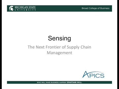 Beyond the Horizon: Sensing in Your Supply Chain