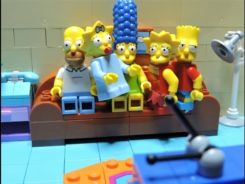 """""""The couch gag special"""" Lego Simpsons animation"""
