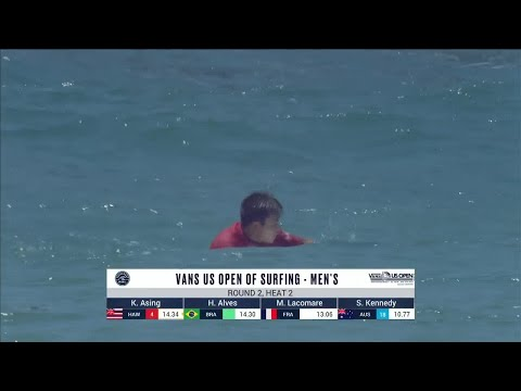 Vans US Open Of Surfing - Men's, Men's Qualifying Series - Round 2 Heat 2