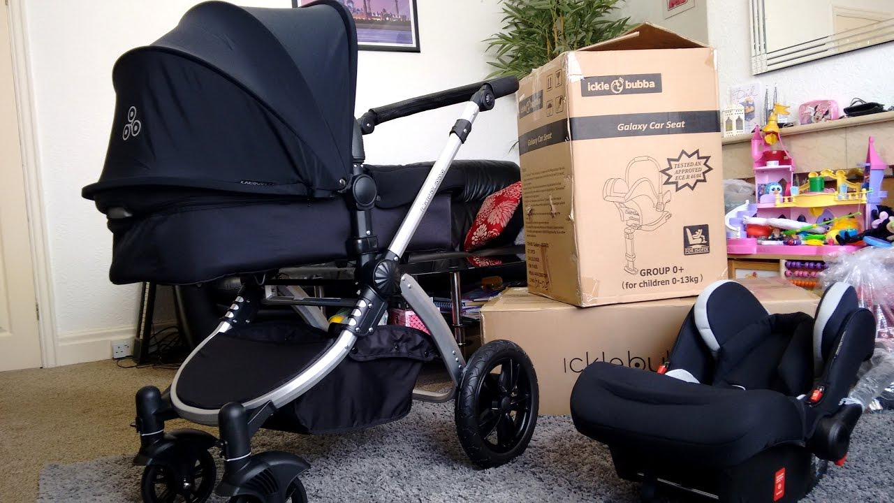 f78710984ff Ickle Bubba Stomp V3 Travel System Unboxing and Assembly