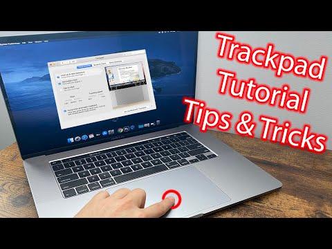Вопрос: Как изменить настройки трекпада в Macbook Pro?