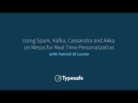 Using Spark, Kafka, Cassandra and Akka on Mesos for Real Time Personalization.