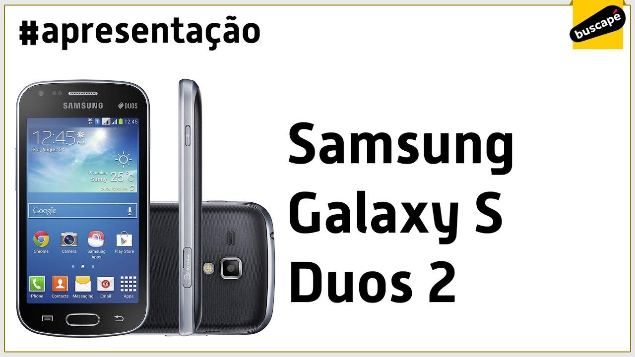 c3cff484b Samsung Galaxy S Duos 2 (GT-S7582) - Apresentação - YouTube