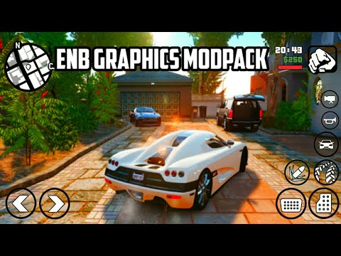 GRAND THEFT AUTO SAN ANDREAS    ENB HD GRAPHICS MODPACK FOR ANDROID   
