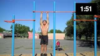 Bar Brothers Requirements -- California Calisthenics 2.36s Current Record Fastest Time!