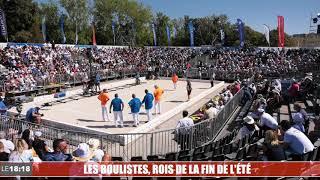Le 18:18 -  À Marseille, les grands concours de boules résistent au coronavirus