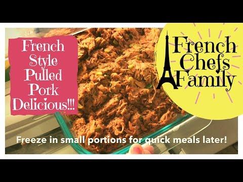 Pulled Pork Shoulder In Slow Cooker Recipe: The Best Shredded Pork Recipe For Your Crock Pot!