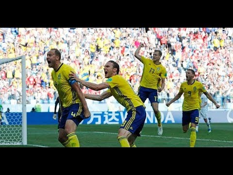 Sweden Vs South Korea 1 - 0 FIFA  World Cup 18/06/2018