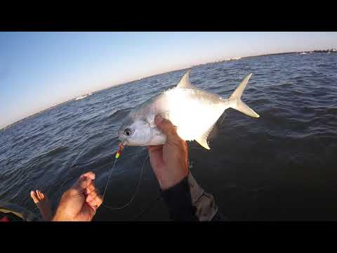 Kayak Fishing For Pompano Indian River Lagoon