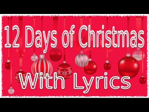 12 Days of Christmas Song with Lyrics  QPT