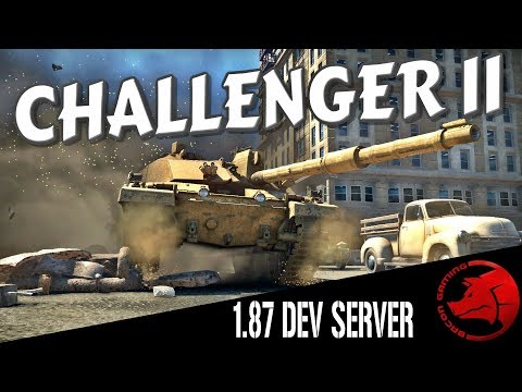 Challenger II - 1 87 Dev Server - War Thunder Ground RB Gameplay