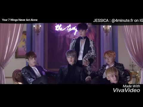 BTS X 4MINUTE [MASHUP] - Your 7 Wings Never Act Alone