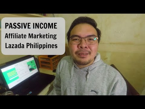 FREE Passive Income : Through Lazada Affiliate Marketing