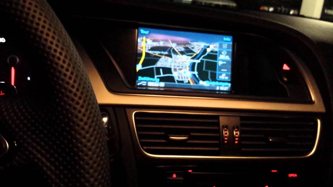 Audi A4 Avant Innenraum B8 2013 Youtube