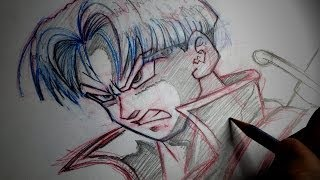 How To Draw Future Trunks