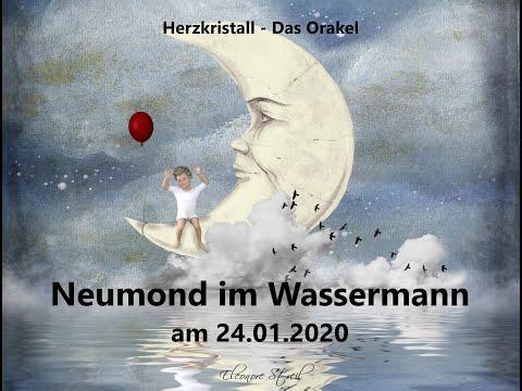 Neumond Orakel im Wassermann  24.01.2020 –  Freiheit entsteht mit loslassen!
