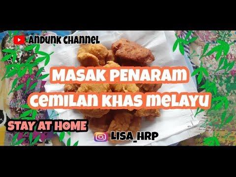 Masak Penaram Cemilan Khas Melayu Ala Andunk Channel Youtube
