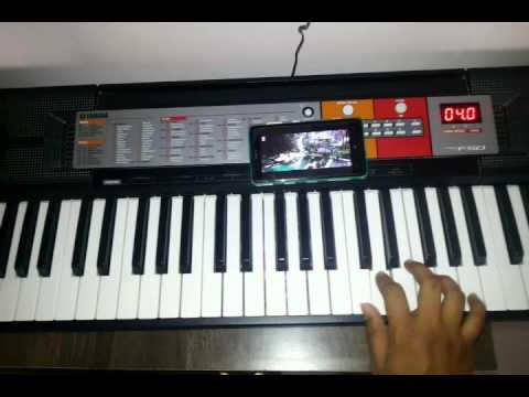 Bahubali Pacha Bottesi Song On Keyboard