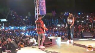 Mahaba Ya WIZKID Na TIWA SAVAGE  Kwenye Jukwaa La Wasafi Festival!!