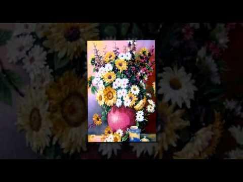 Tranh đá quý-www.quavietnam.com - Tranh hoa nghệ thuật cho không gian nội thất.flv