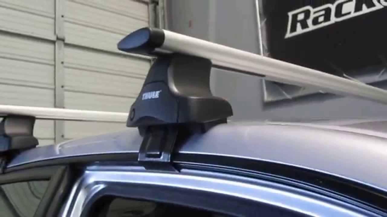Perrycraft Roof Rack for 2002 2006 Honda CRV - YouTube