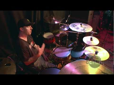 ddrum artist Richard Christy of Charred Walls of the Damned interview