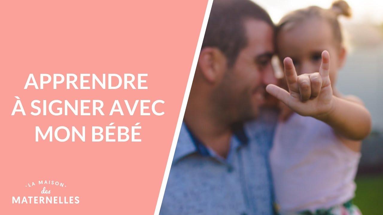 La langue des signes pour bébé