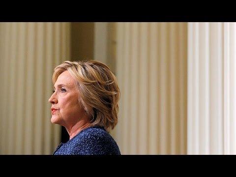 Zatürre olduğu açıklanan Hillary Clinton seçim kampanyasına ara verdi