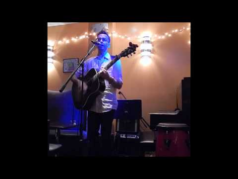 """Second Wheel"" (C. Donovan) Craig Donovan Solo Performance at The Path Cafe, NYC  08-01-2015"