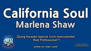 Marlena Shaw-California Soul (1 Minute Instrumental) [ZZang KARAOKE]