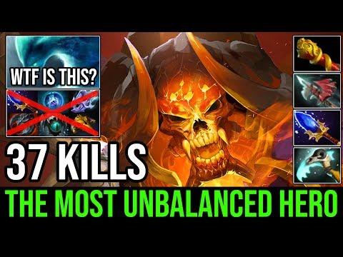 The Most Unbalanced Hero Ever Made!!! WTF Burning Army Clinkz 37Kills Vs Godlike Morphling - DotA 2