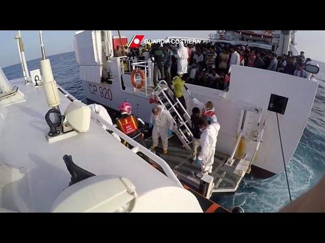 <h2><a href='http://webtv.eklogika.gr/3-300-metanastes-stis-italikes-aktes' target='_blank' title='3.300 μετανάστες στις ιταλικές ακτές'>3.300 μετανάστες στις ιταλικές ακτές</a></h2>
