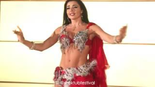 Alla Kushnir bellydance Maktub Festival by Lorelei Mawood song جديد أللا كوشنير رقص على أغنية موعود