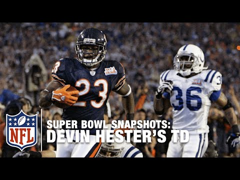 Super Bowl Snapshots: Devin Hester Takes It To The House In Super Bowl XLI! | NFL