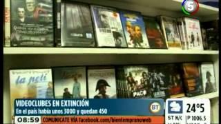 VIDEOCLUBES EN EXTINCIÓN