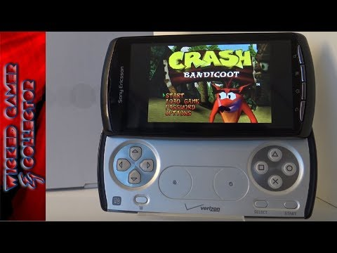 The Playstation Android Phone / The Sony Ericsson Xperia Play PSP Clone