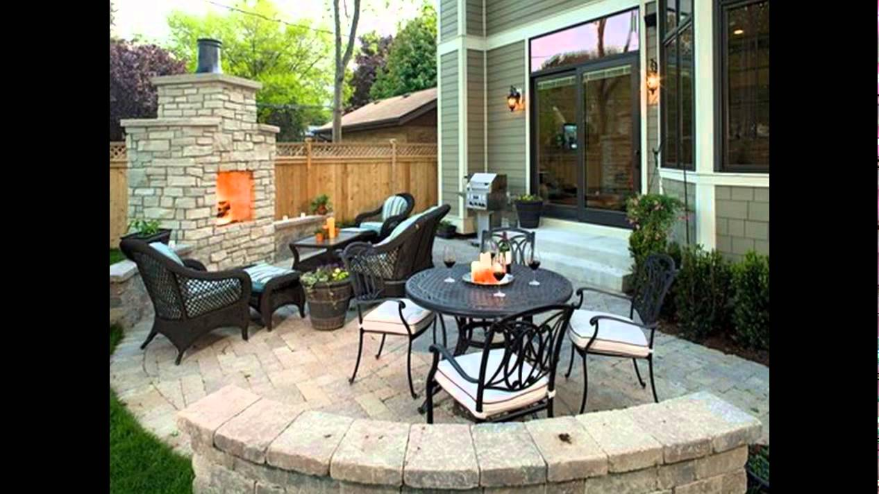 Outdoor patio design ideas outdoor covered patio design ideas youtube - Small covered patio ideas ...