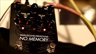 First look at the No Memory delay by smallsound/bigsound