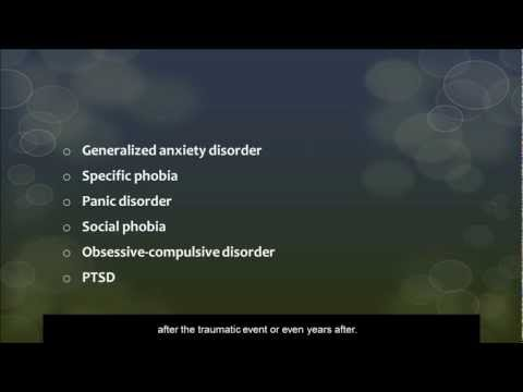General Anxiety Disorder   Types of Anxiety Disorders