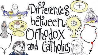 Differences Between Orthodox and Catholics (Pencils & Prayer Ropes)