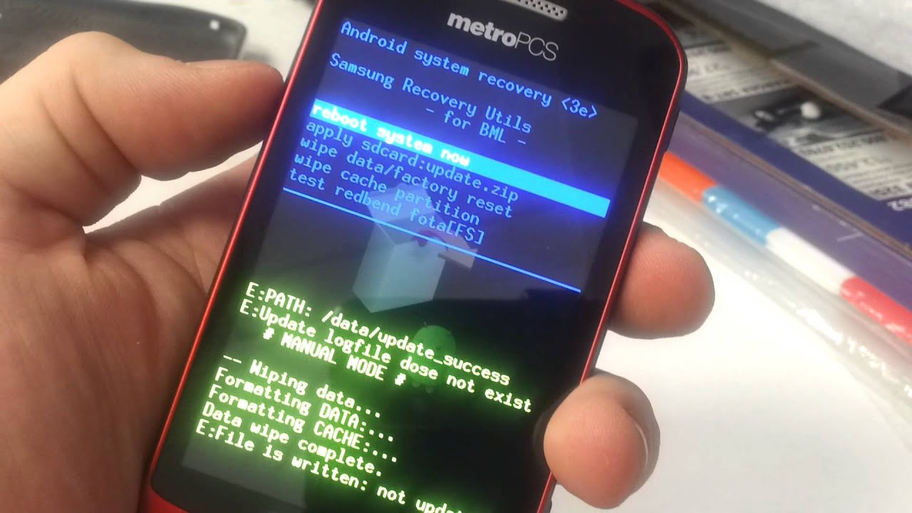How To Hard Reset A Zte Phone Metro Pcs - Year of Clean Water
