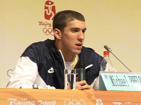 Beijing Olympics 2008 -  Swimming record of Michael Phelps