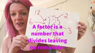 Factors and prime numbers - Mrs Holdstock Teaching and Learning ideas