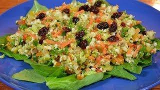 Raw Southwest Detox Salad
